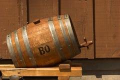 Whiskyfaß Lizenzfreies Stockfoto