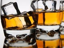 Whiskynahaufnahme Lizenzfreies Stockfoto