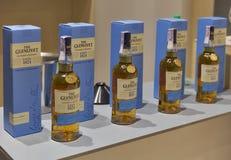 Whiskysupfestival i Kiev, Ukraina Royaltyfri Bild