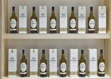 Whiskysupfestival i Kiev, Ukraina Royaltyfri Foto