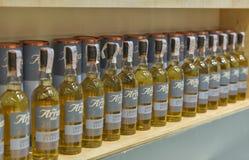 Whiskysupfestival i Kiev, Ukraina Arkivfoto