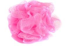Whisp cor-de-rosa da fibra isolado Foto de Stock