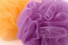 Whisp roxo da fibra Imagens de Stock Royalty Free