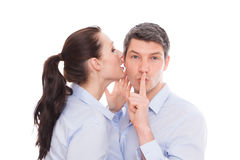 Whisper Royalty Free Stock Photography