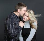 Whisper of love Stock Image