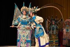 "Whisper to intercede- Beijing Opera"" Women Generals of Yang Family"" Royalty Free Stock Image"