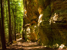 Whispering Cave trail royalty free stock photo