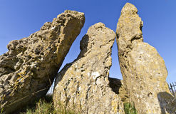 The Whispering Knights neolithic dolman Stock Photography