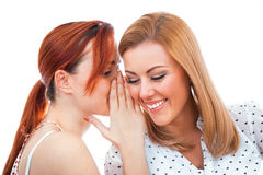 Whispering Stock Photography