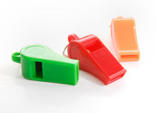 Whistle Royalty Free Stock Photography