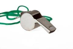Whistle. Isolated on white background Stock Photos