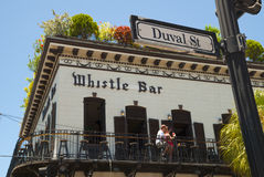 Whistle bar, Key West Royalty Free Stock Image