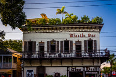 The Whistle Bar in Key West, Florida. Stock Images