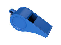 Whistle Isolated on White Background, 3D rendering stock photography