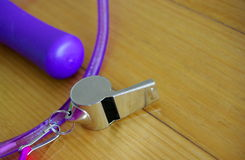 Whistle & Jumprope Stock Image