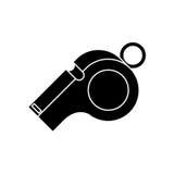 Whistle of soccer sport design Stock Photo