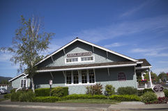 Whistle Stop Center in Yountville, Napa Valley Royalty Free Stock Photo