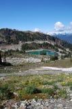 whistler в сентябре горы верхний Стоковые Фотографии RF
