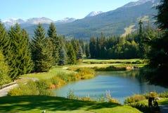 whistler гольфа клуба стоковое фото