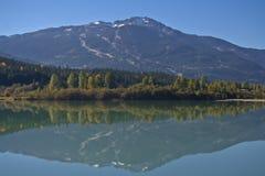 whistler горы стоковое изображение rf