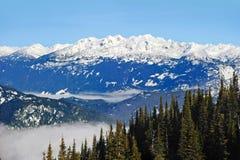 Whistler. Beautiful British Columbia, Canadian Rockies, Whistler Royalty Free Stock Photo