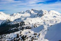 Whistler. Beautiful British Columbia,  Canadian Rockies, Whistler Stock Image