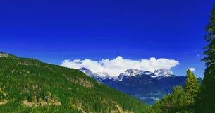 Whistler-Blackcomb, Columbia Britannica, Canada Immagini Stock Libere da Diritti