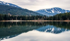 Whistler Blackcomb Reflection Royalty Free Stock Image