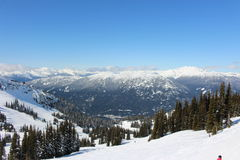 Whistler - Canada. Ski Resort in Whistler, Canada Stock Photography