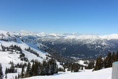 Whistler - Canada. Ski Resort in Whistler, Canada royalty free stock photo