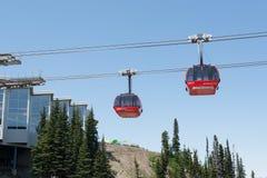Whistler Gondolas Stock Image