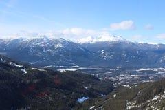 Whistler - Kanada Royaltyfria Bilder