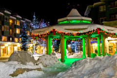 Whistler Lights Stock Photo