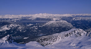 Whistler Mountain Royalty Free Stock Photos
