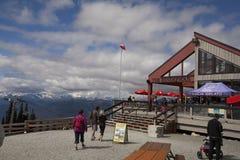 Whistler mountain restaurant Stock Photo
