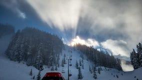 Free Whistler Mountain Sunrise Royalty Free Stock Photo - 139255625
