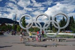 Whistler Olympic Plaza Royalty Free Stock Photo