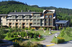Whistler Olympic Village. Whistler former Olympic Village, Canada Stock Photography