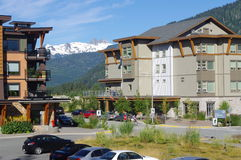 Whistler Olympic Village. Whistler, former Olympic Village, Canada Royalty Free Stock Image