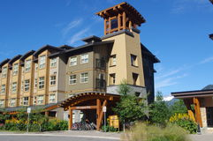 Whistler Olympic Village Royalty Free Stock Photography