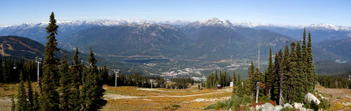 Whistler Royalty Free Stock Photography