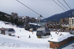 Whistler Resort, Canada Royalty Free Stock Images