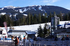 Whistler Resort, Canada Royalty Free Stock Photography