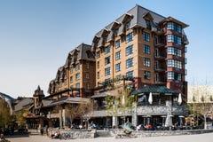 Whistler Ski Resort in Whistler, Canada Royalty Free Stock Image