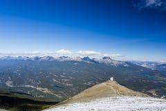Whistlers гора, национальный парк яшмы Стоковые Изображения RF