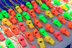 Whistles 2 Stock Photography