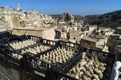 Whistles souvenirs Matera Royalty Free Stock Images
