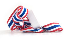 Whistles with Thailand national flag lanyard Stock Photography
