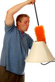 Whistling Duster Man Stock Images