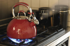 Whistling Teapot Stock Photography